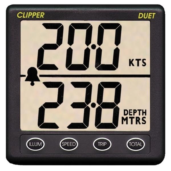 NASA Clipper Duet Echolot und Geschwindigkeitsanzeige
