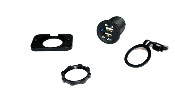 USB-Doppelbuchse