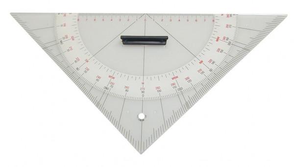 Kursdreieck Anlegedreieck Navigationsdreieck 325mm Hypotenuse