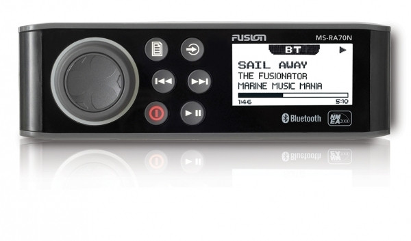 MS-RA70N Radio - AM/FM/BLUETOOTH/USB/AUX/iPod/iPhone/ANDROID, NMEA2K Kompatibel