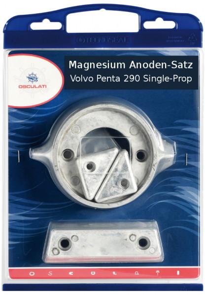 Anoden-Set f. Volvo-Motoren 290 Magnesium