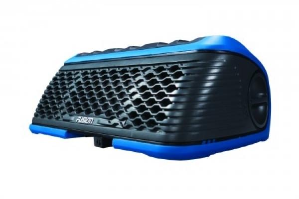 Fusion WS-SA150 Stereo Active Bluetooth Lautsprecher blau