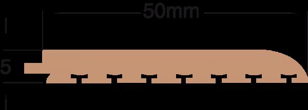 DEK-KING 50mm x 10m Eckpanel ohne Fuge