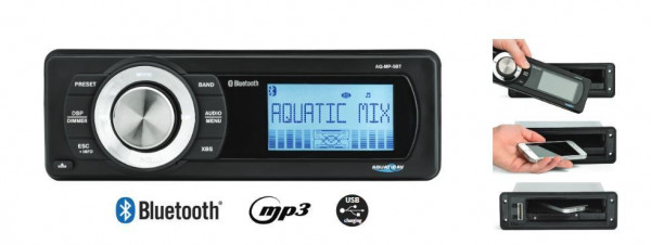AQ-MP6-Bluetooth watertight tuner