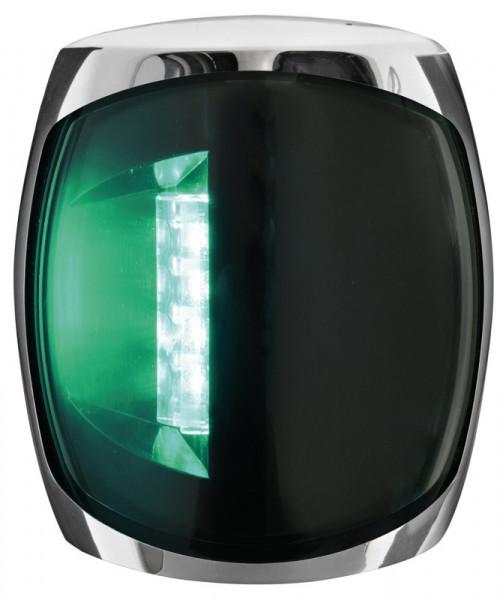 Navigationslampe grün Sphera III Inox 112,5° Steuerbord