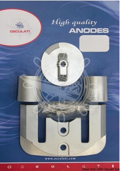 Anoden-Set Bravo II/III Magnesium