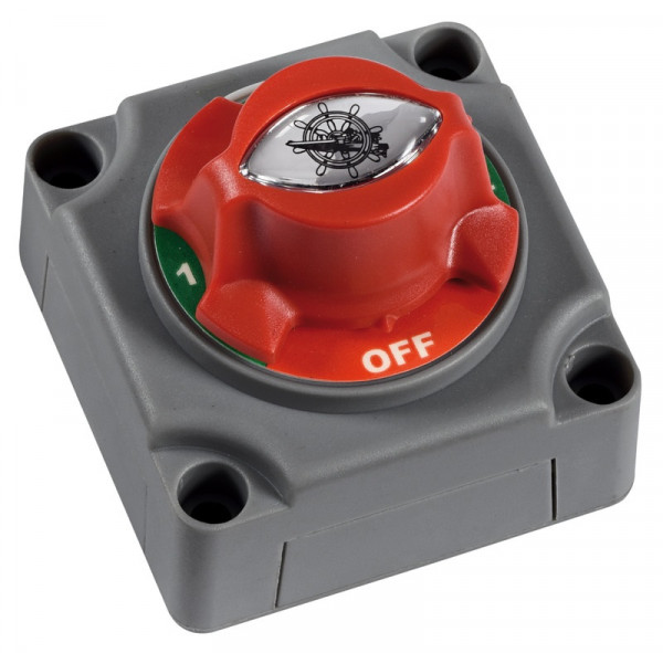 Batterietrennschalter Batt-1 • Batt-2 • Beide • OFF