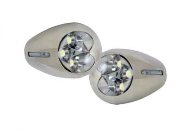 allpa Aufbau NIRO 316 High Power LED Rumpflicht 12V/3.5W 105x62x34mm