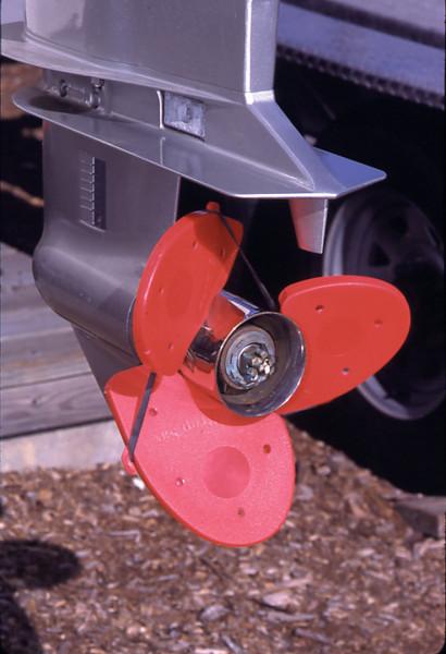 PROP SOX tm Propellerkappen 3-flügelig rot