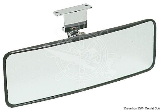Wasserski-Rückspiegel, verstellbar 100x300 mm