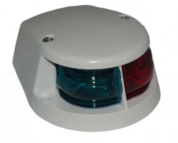 Buglicht zweifarbig rot/grün Deckel weiß