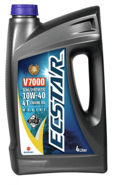 Suzuki Marine ECSTAR Marine Öl 10W40 Teilsynthetisch