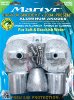 allpa Magnesium Anodensatz Bravo 3 ≥2004