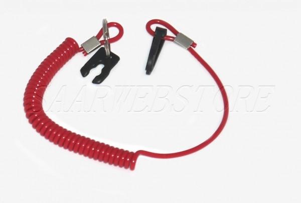 allpa Notstoppclip mit Spiralschnur für OMC/Honda