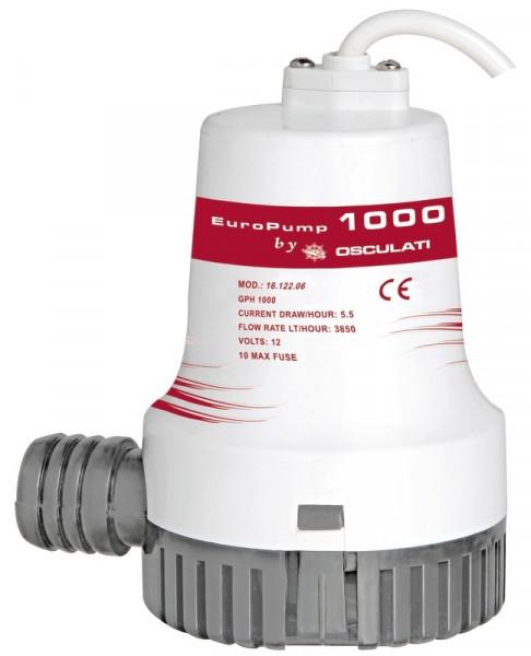 Europump II Bilgentauchpumpe 1000 12 V