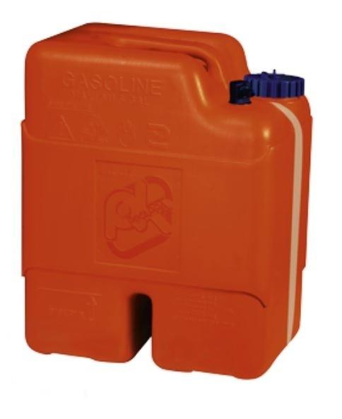 allpa Kunststoff Aussenbordmotortank/Kraftstoffkanister 22l, mit Aussenseitliche Inhaltsanzeige