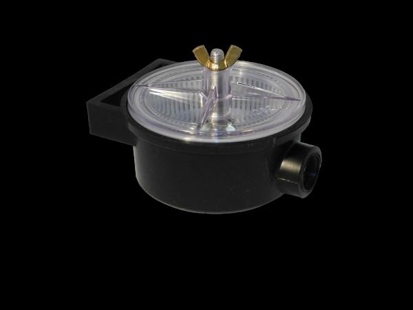 """Seewasserfilter für Innenbordmotoren mit 3/4"""" Gewindeanschluss 150l per Minute"""