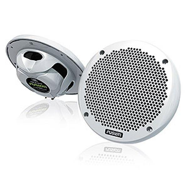 """MS-EL602 - 6"""" Marine 2 Wege Einbau-Lautsprecher (1 Paar) 150W, weiß"""