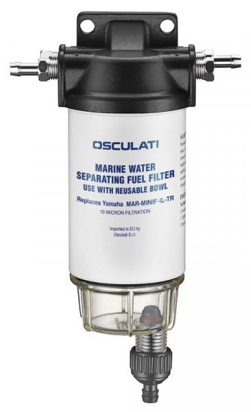 Benzinfilter + Wasser-/Treibstoffabsch 200-406 l/h