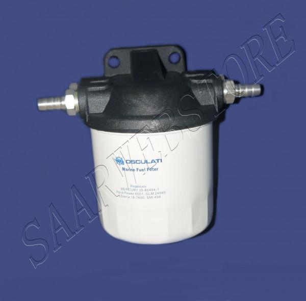 Benzinfilter m/Kunststofffilter 182-404 l/h