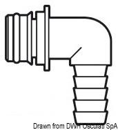 Europump 90°-Schnellschnappanschluss Ø 14 mm