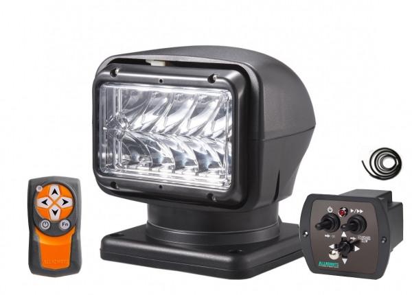 LED Suchscheinwerfer 220s, 12-24 V, kabellose Fernbedienung und Joystick mit Kabel
