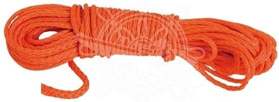 Schwimmfähige Levylen-Leine orange Rettungsr. 30 m