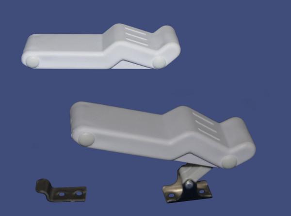 Hebelverschluß Kistenverschluß aus thermoelastischem Gummi 96x29mm