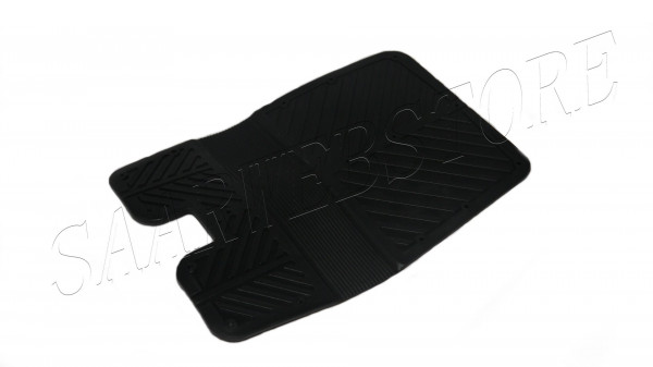 Heckschutzplatte aus PVC, grau 400x280 mm